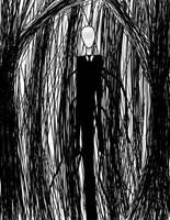 The Slender Man by moxgoth