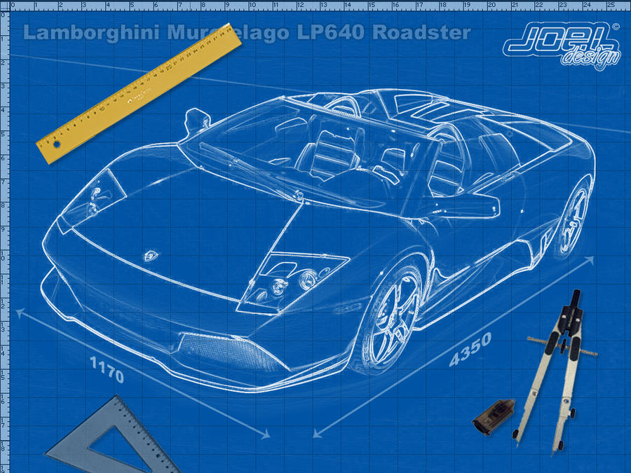 The gallery for lamborghini blueprint for Web design blueprints