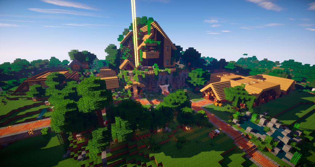 My Minecraft 1.8 Survival by Joel-Design