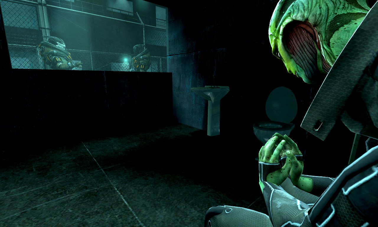 Thane in a....prison cell?