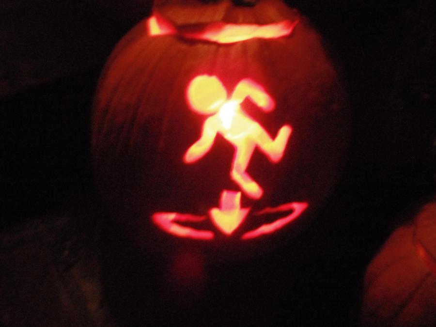 Portal Pumpkin by TheInsanityZone