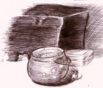 Star pot sketch