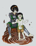 avatar: Toph and Lin