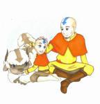 Avatar: Aang and Tenzin