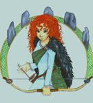 Merida, the bear princess