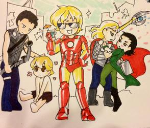 OHSHC avengers