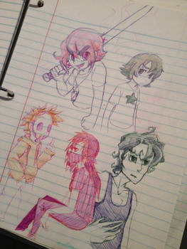 G.0.E. sketch page