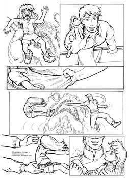 Sequential Manga art