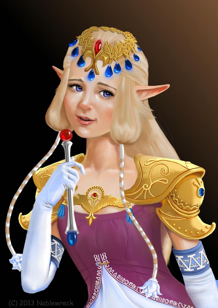Zelda - Glimmer of Hope by Noblewreck