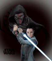 Star Wars Light vs Dark by Mdezutti