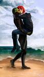 when I see the sea by Aradaheshu
