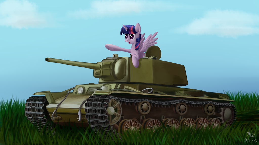 Twi and KV-1 by alexey29