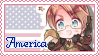 America Pastel Stamp by Angelinia