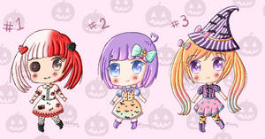 .: Halloween adopts (closed) :. by Angelinia