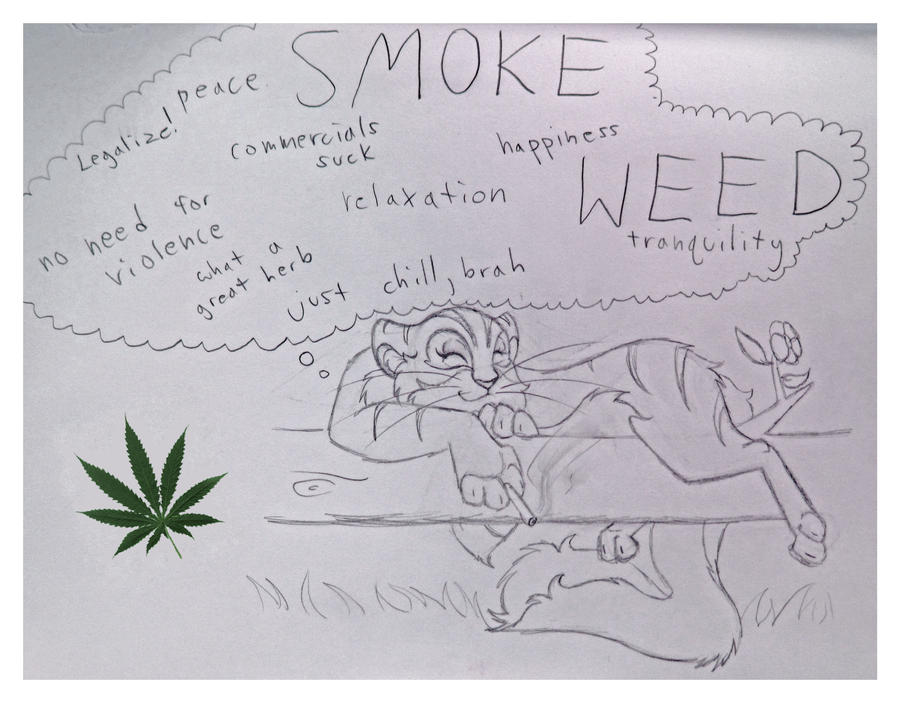 Smoke Weed by pokemanzfanz on DeviantArt