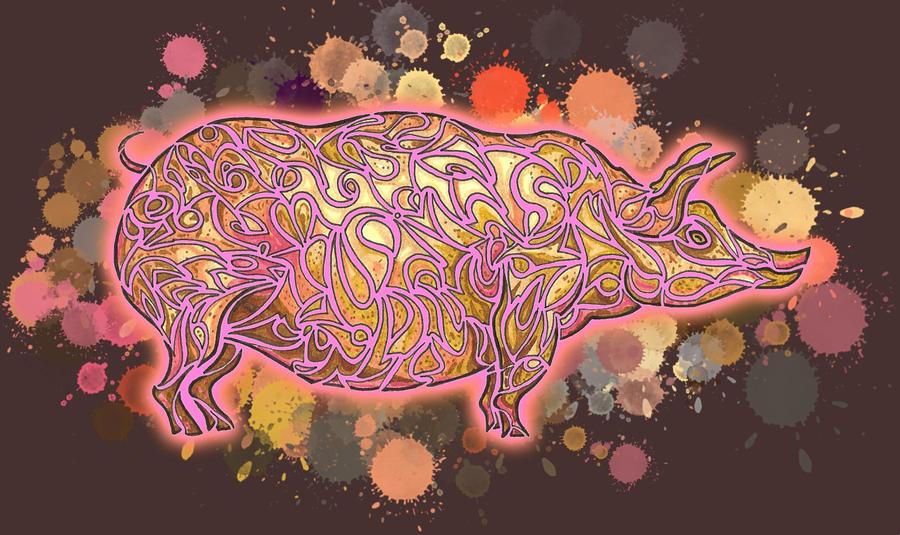 Pig - Final work by Dessins-Fantastiques