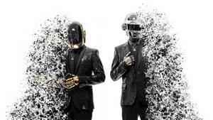 Daft Punk Splashed - Wallpaper