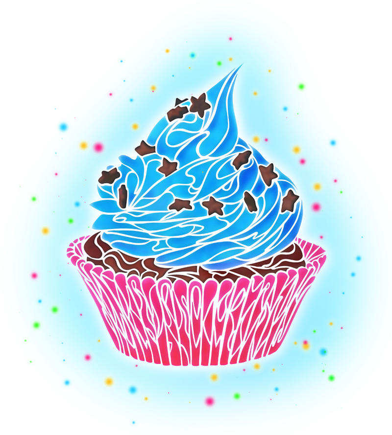Cupcake by dessins fantastiques on deviantart - Cupcakes dessin ...