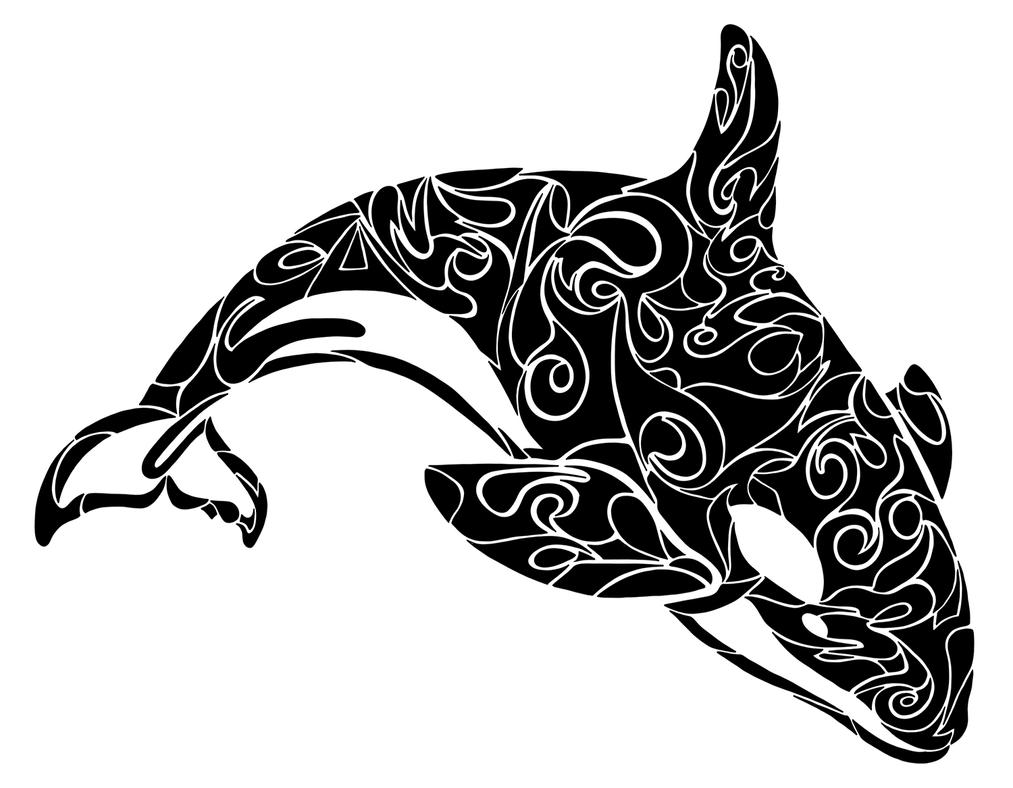 Whale Shark Line Art : The gallery for gt native american orca whale art