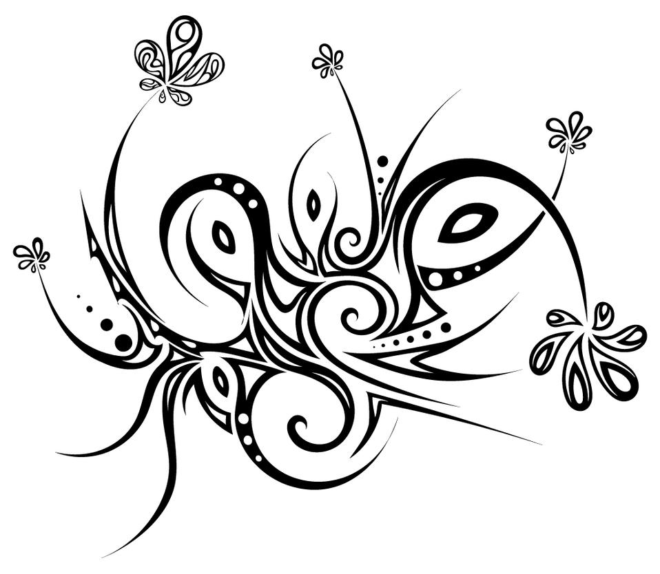 Tribal Flowers By Dessins-Fantastiques On DeviantArt