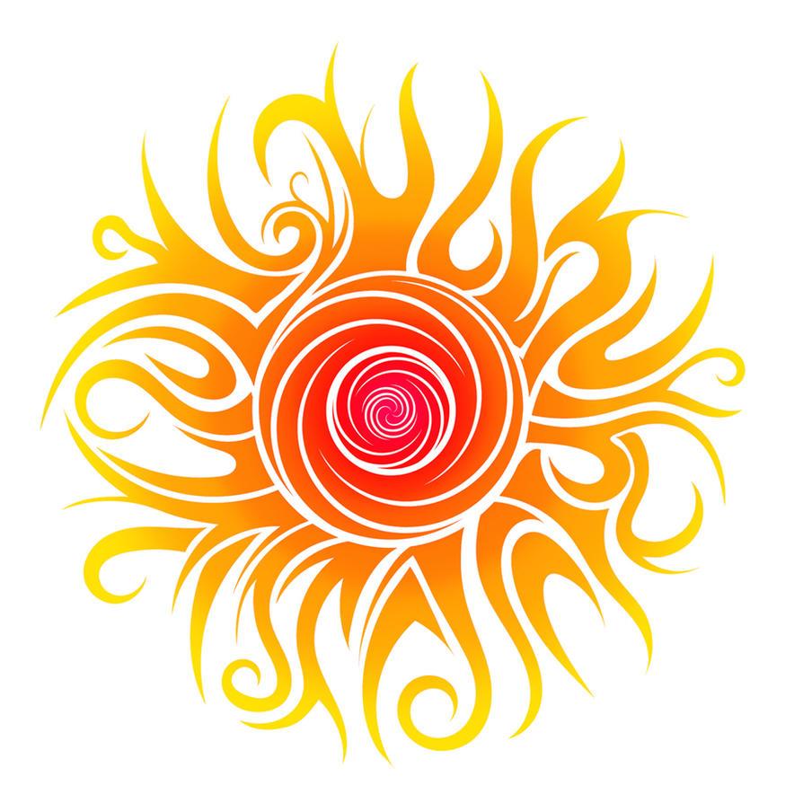 tribal sun by dessins fantastiques on deviantart. Black Bedroom Furniture Sets. Home Design Ideas