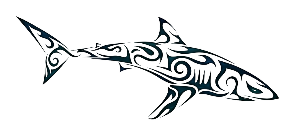 tribal shark 2 by dessins fantastiques on deviantart. Black Bedroom Furniture Sets. Home Design Ideas