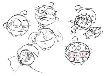 Poof Doodle Dump by FairlyOddFan