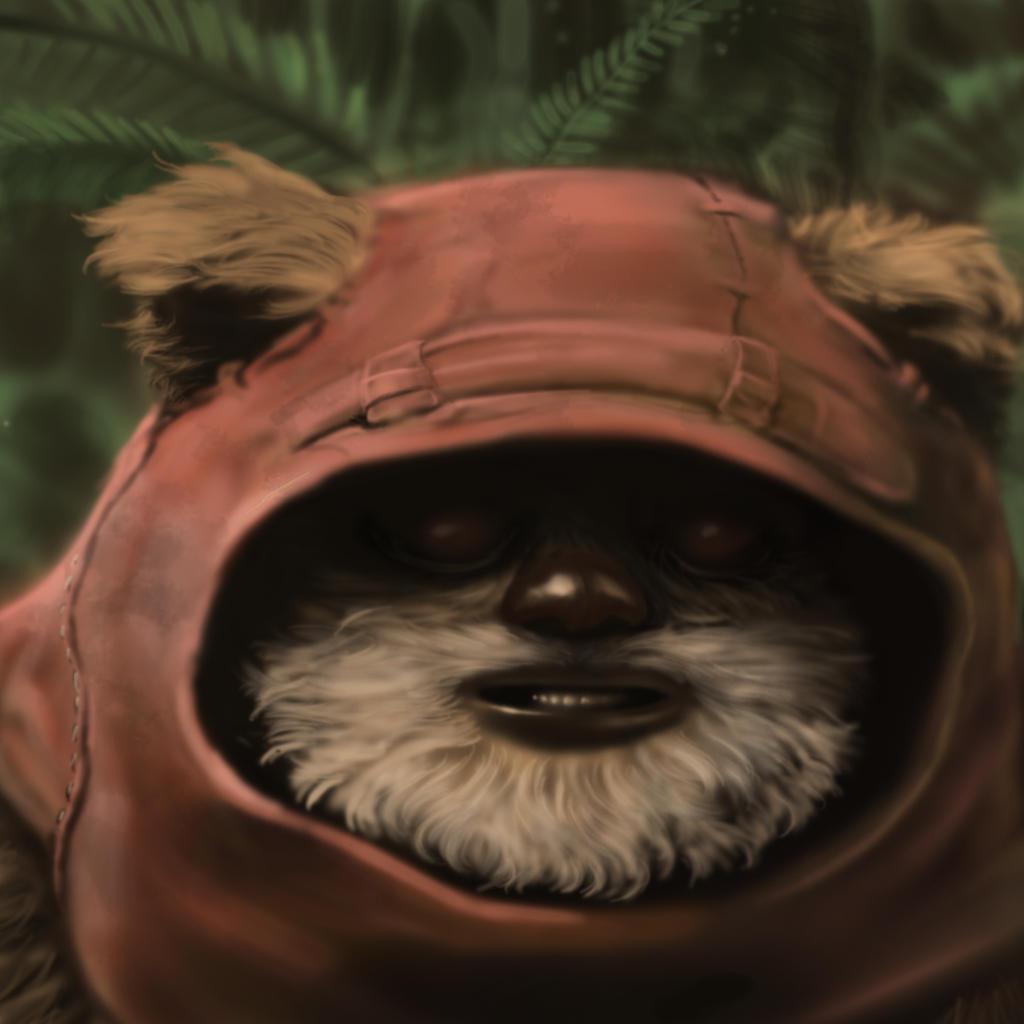 Ewok by henryponciano on deviantart - Ewok wallpaper ...