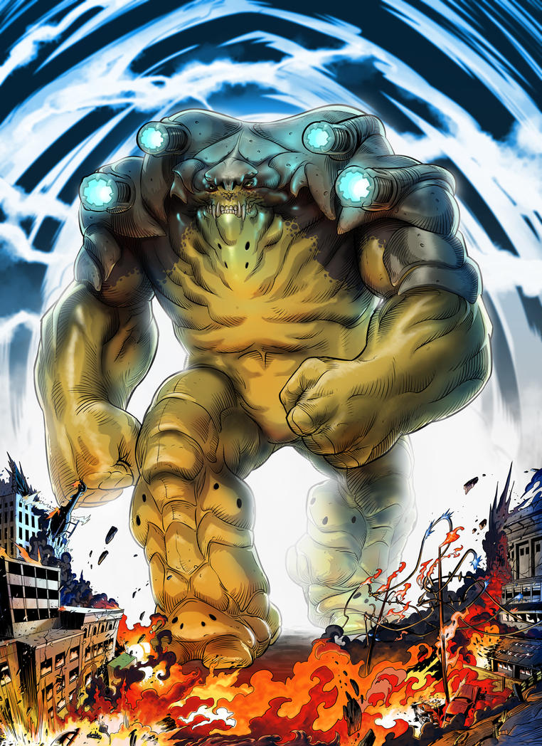 Species Gigantic Brute by HenryPonciano