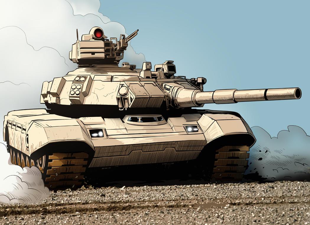 RvM Heavy Tank by HenryPonciano