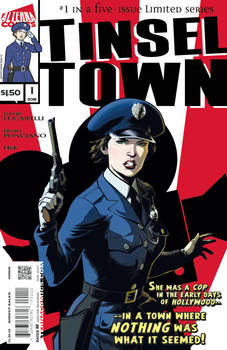 Tinsel Town final first issue cover