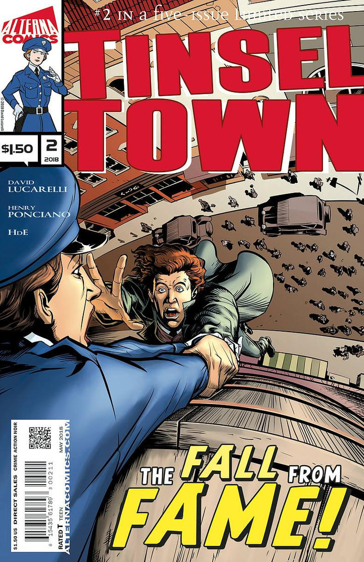 Tinsel Town Issue 2 cover by HenryPonciano