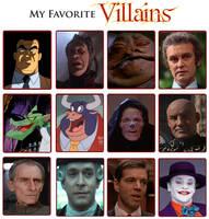My Favorite Villains Meme by Kooshmeister