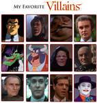 My Favorite Villains Meme