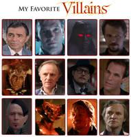 My Favorite Villains Meme 2.0 by Kooshmeister