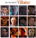 My Favorite Villains Meme 2.0