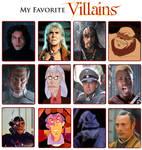 My Favorite Villains Meme 4.0