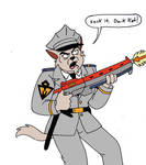 Sergeant on the Warpath by Kooshmeister
