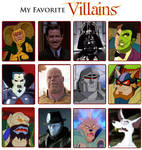 My Favorite Villains Meme 5.0