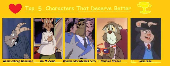 Top 5 Characters That Deserve Better
