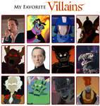 My Favorite Villains Meme 6.0