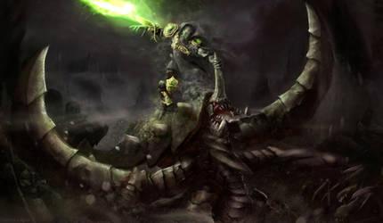 Dark Prelate Zeratul and Ultralisk Starcraft 2 by Nomatterwhat1984