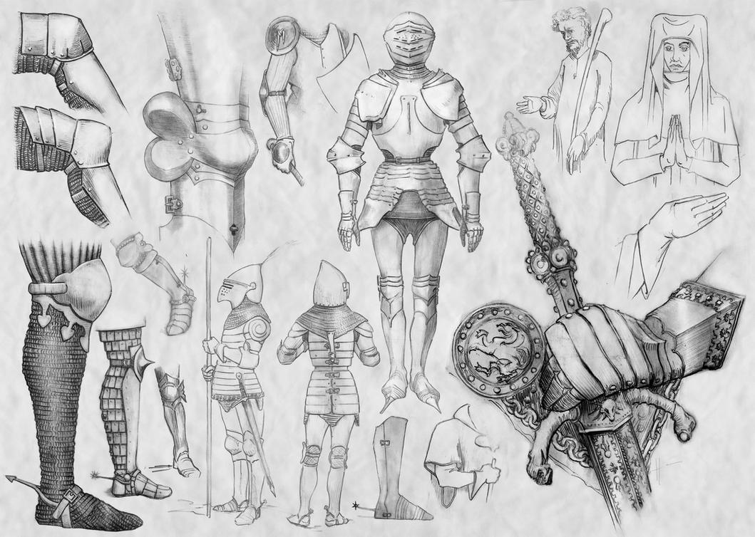 Medieval armor, leg and suit (6) by Nomatterwhat1984 on DeviantArt