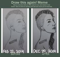 Draw This Again: Blaise by Xephinetsa