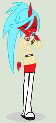 Kneesocks - Equestria Girls by sunny-flare