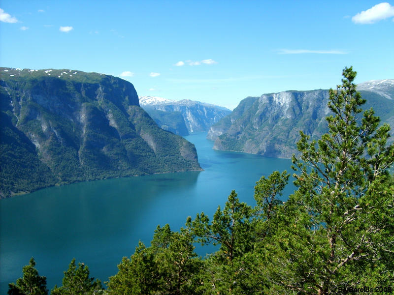 Aurlandsfjorden by Celvaya