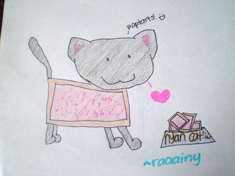 nyan cat by raaainy