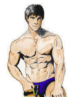 Blue Pants by artemis91