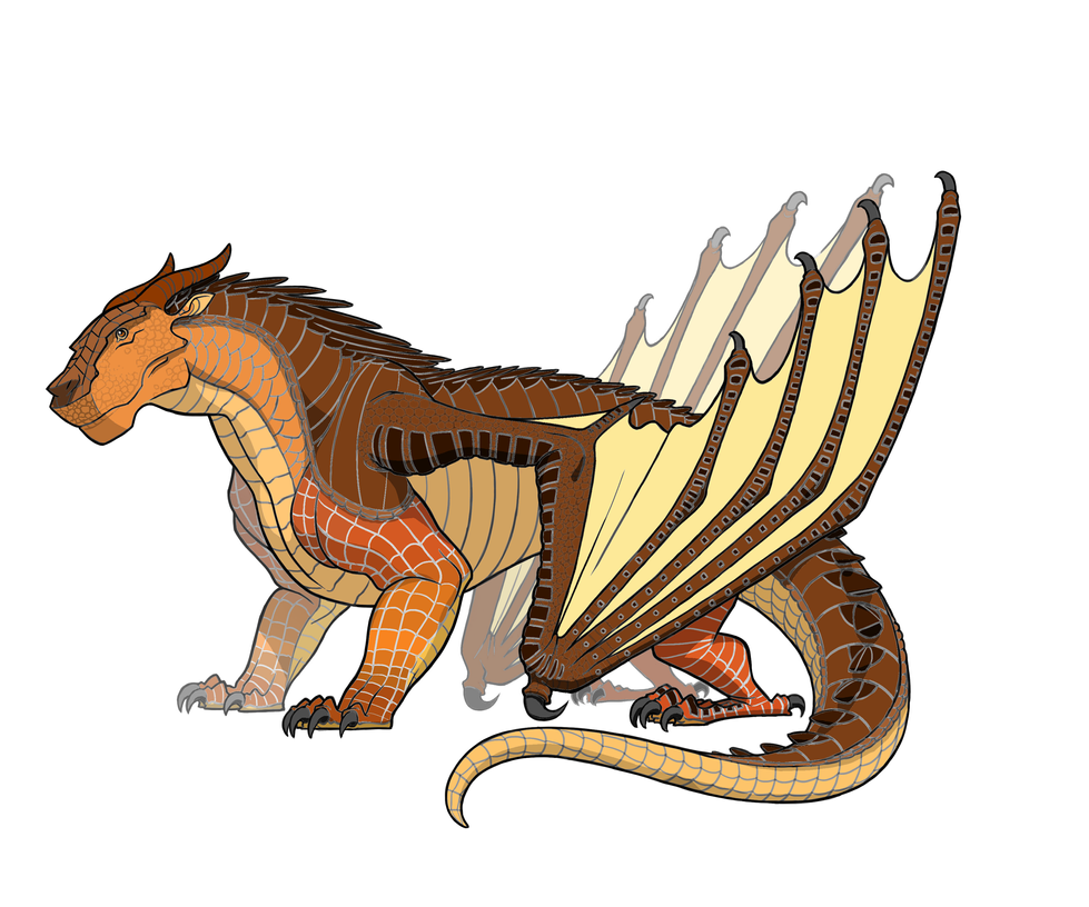 Wings of Fire Dragon Coloring Pages