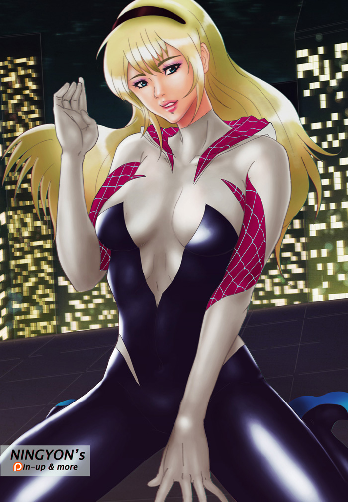Spider Gwen by NaaN-AnA